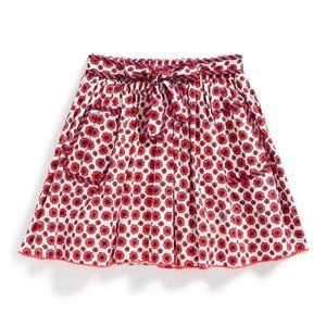 Little Marc Jacobs Floral-Print Woven Skirt